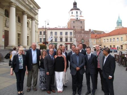 NNDA, Carson City manager visit Poland